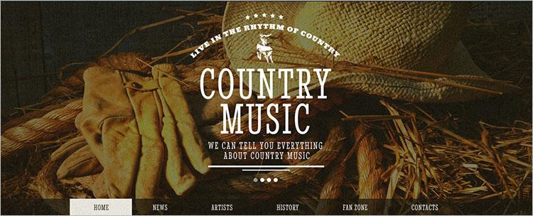 music-band-website-themetemplates