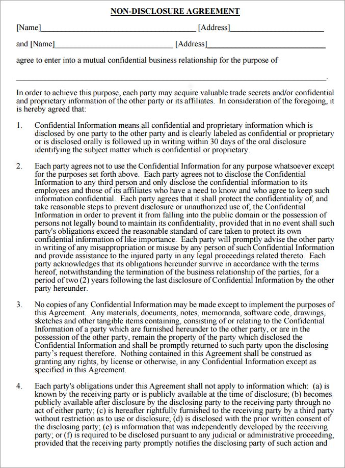 non-disclosure-agreement-mutual-generic-blank-pdf