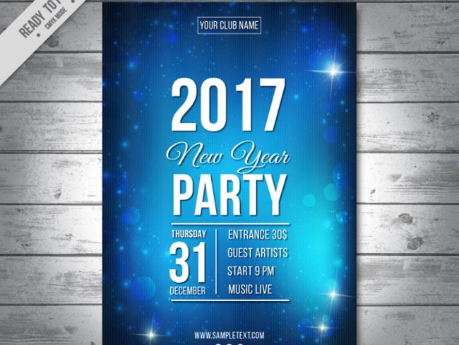 29+ New Year Flyer Templates || Free & Premium Templates