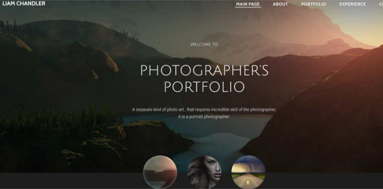 photo-website-templates
