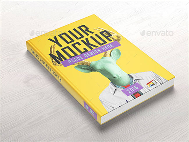 sample book cover mockup