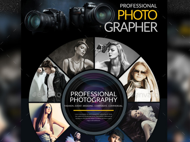 Photography Flyer Template Choice Image Template Design Ideas