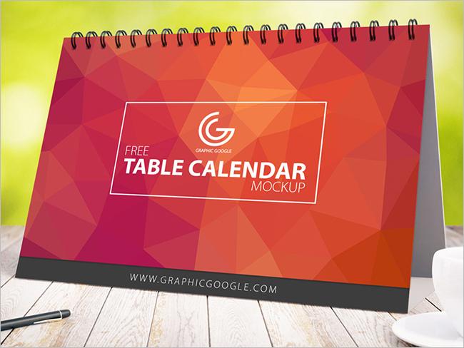 2017 Spiral Calendar Mockups