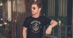 43+ Free T-Shirt Mockup PSD Templates