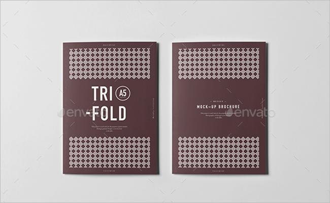 A5 Booklet Mockup Design