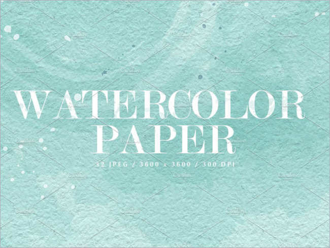 Abstract Watercolor Texture Design