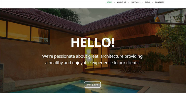 Architectural WordPress Theme Templates