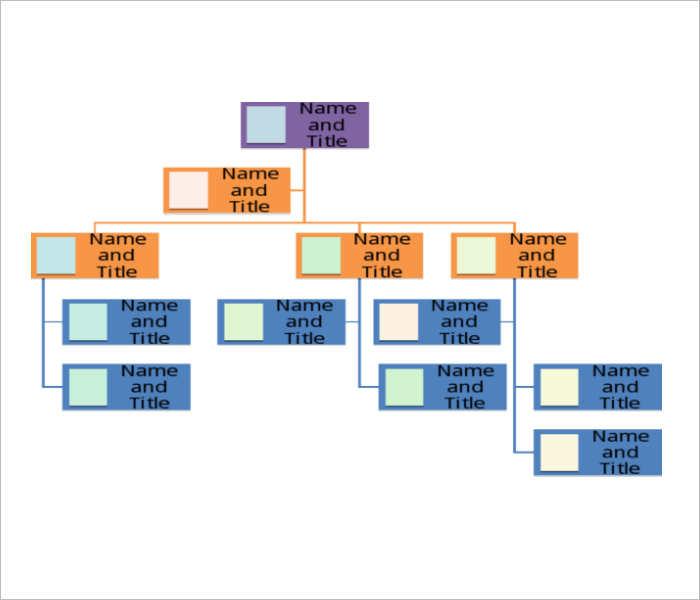 bank-organization-chart-templates