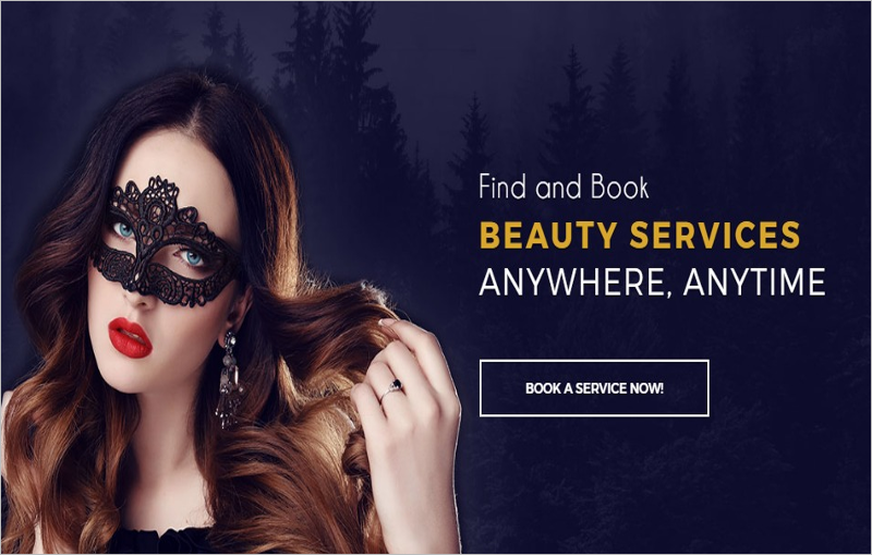 Beauty Salon Bootstrap Theme