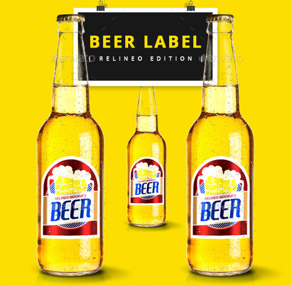 Beer bottle Lable Design