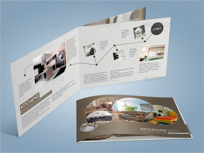Best A5 Brochure Mockup Design