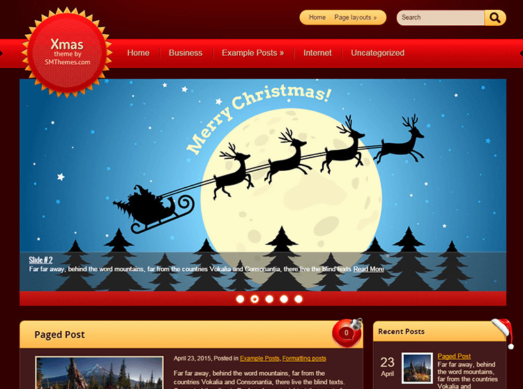 Best Christmas WordPress Templates