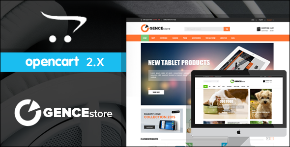 Best Online Multi Store Responsive Opencart Theme
