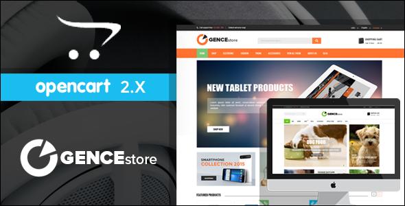 Best Online Multi Store Responsive Opencart Theme