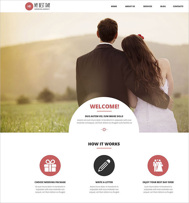 Best Wedding WordPress Theme Templates