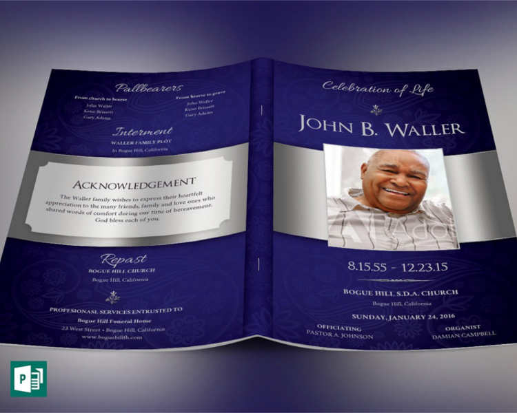 35 Funeral Program Templates Free Premium Templates – Obituary Program Template