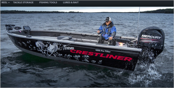 Bootstrap Sports Fishing Store Magento Theme