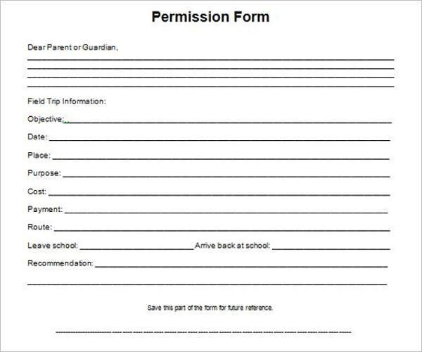 Camp Permission Slip Template | 36 Permission Slip Templates Free Pdf Doc Formats