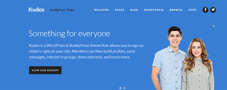 BuddyPress Compatible Themes & Templates