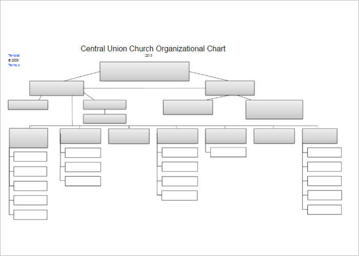 107 organizational chart templates free word excel formats for Html organization chart template