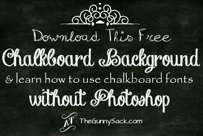 Chalkboard Illustrator background Design