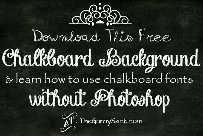Chalkboard Illustrator background Design