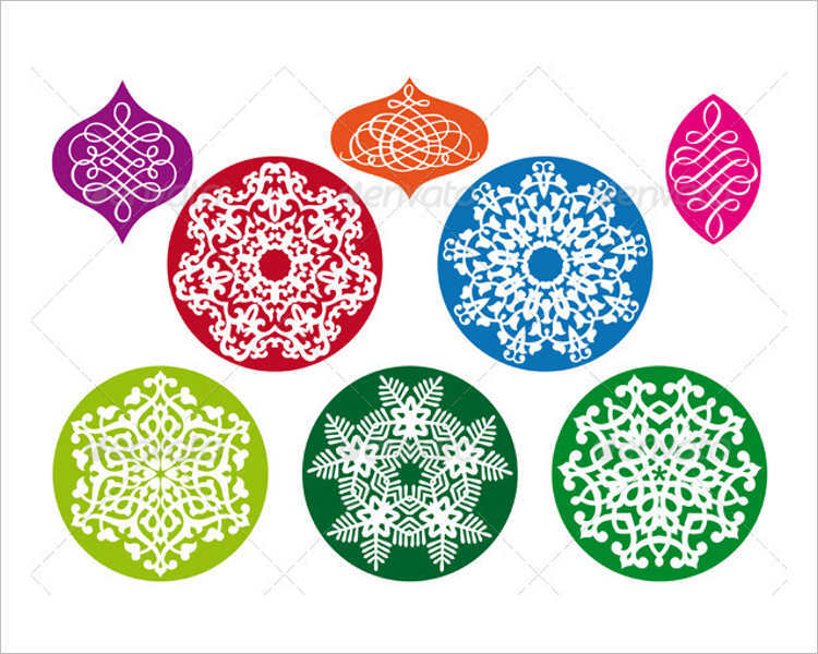 christmas-abstract-snowflake-vector-design