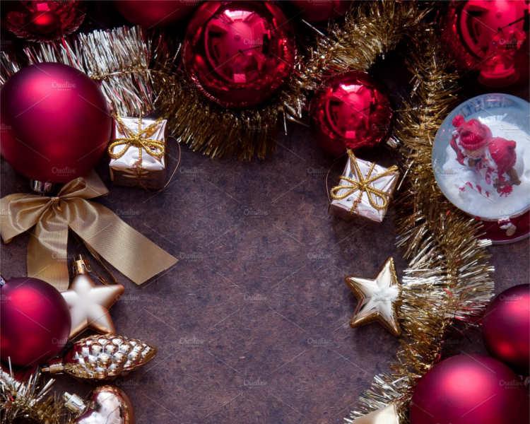 Christmas ball Object Decoration Templates