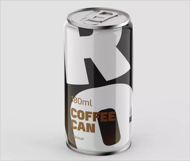 Coffee Can Mockup Design