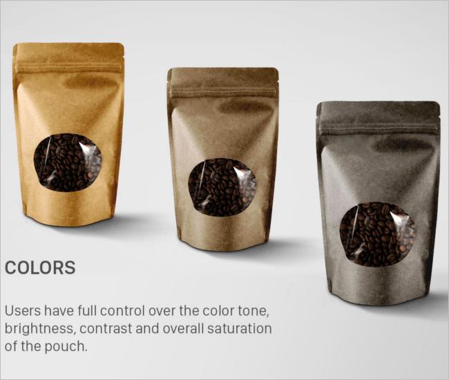 Coffee Packaging Mockup Free Template