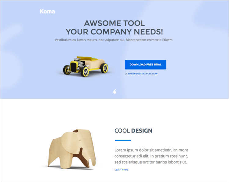 company-marketing-landing-page-templates