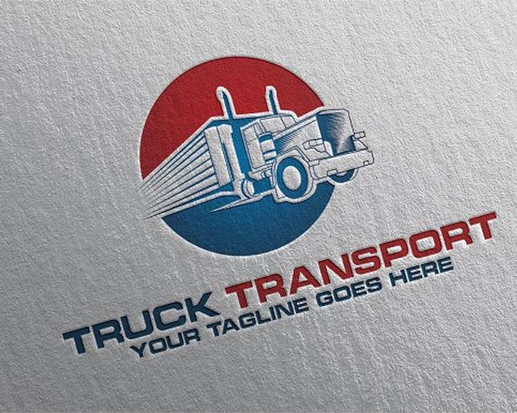 company-truck-stationery-logo-design