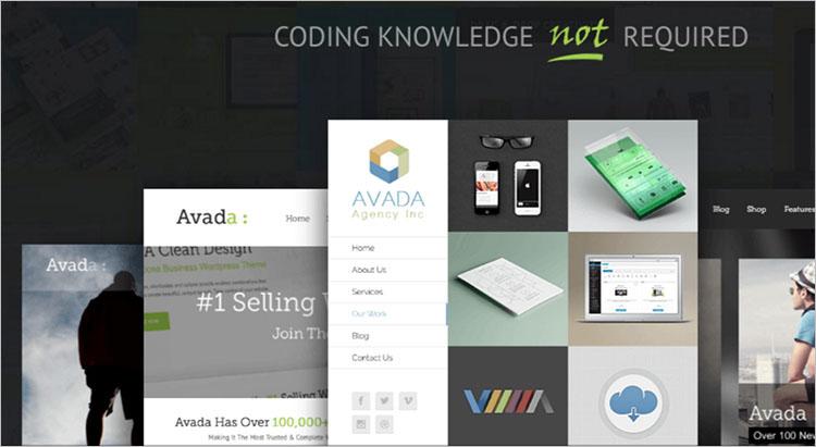 Corporate Coding WordPress Theme Templates