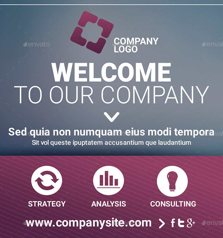 Corporate Multipurpose Facebook Templates