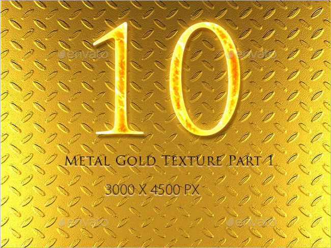 Customisable Gold Texture Design