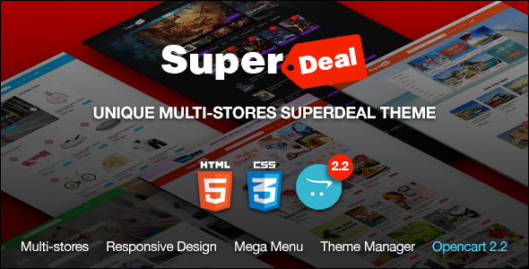 Daily Deals Premium Responsive Opencart Theme