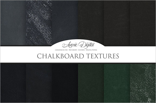 Digital chalkboard Background design