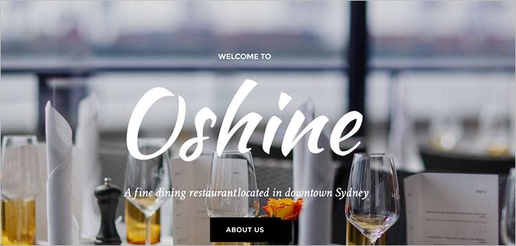 Dining Restaurent wordPress Theme