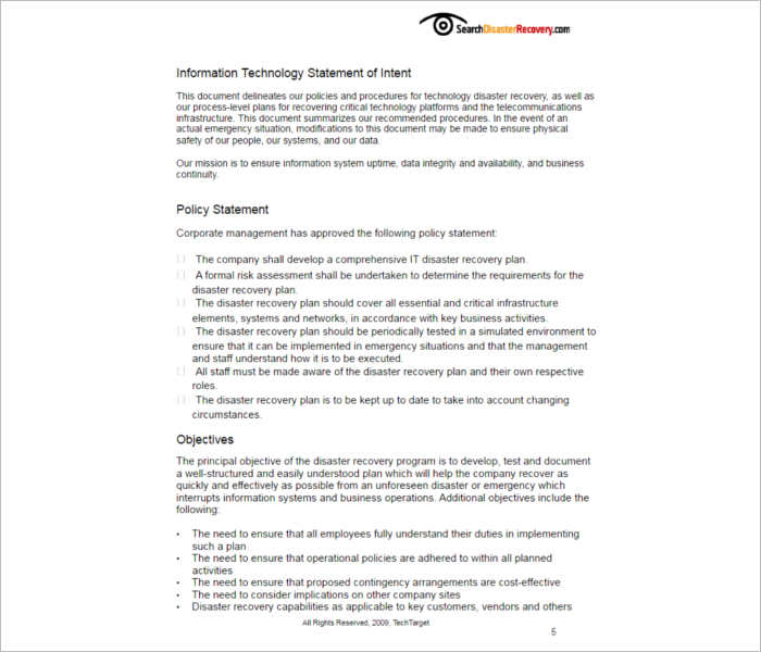 disaster-recovery-plan-templates-pdf