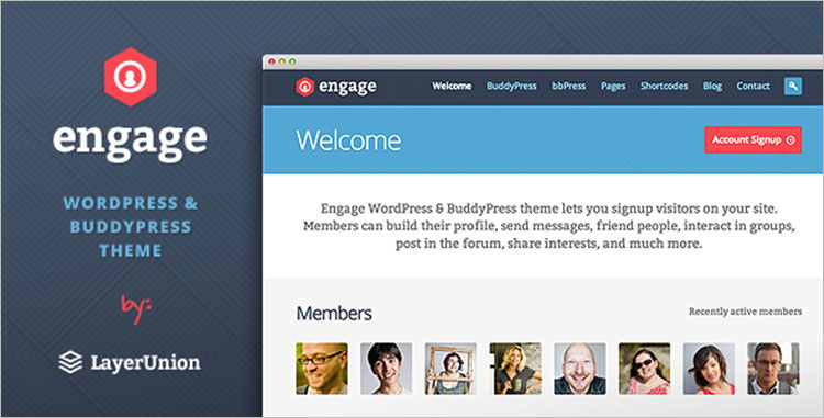 Download BuddyPress Themes & Templates