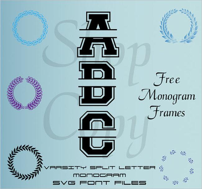 Download Varsity Font Design