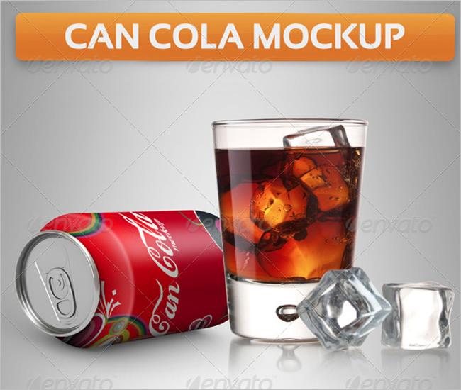 Drink Can Mockup Design