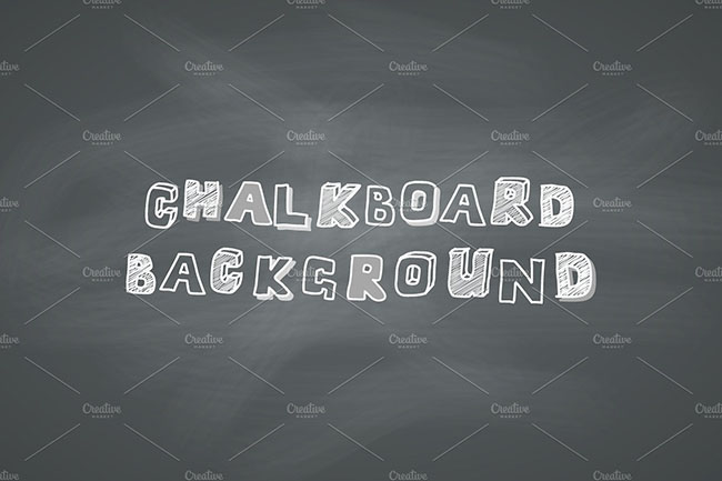 Dust chalkboard background design