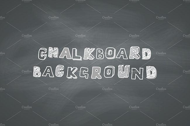 Dust chalkboard background design
