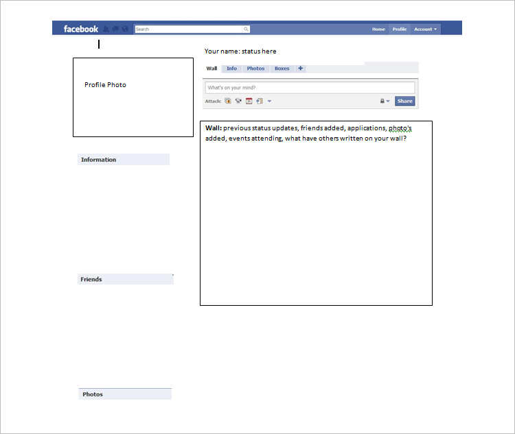 Editable Facebook Templates Design