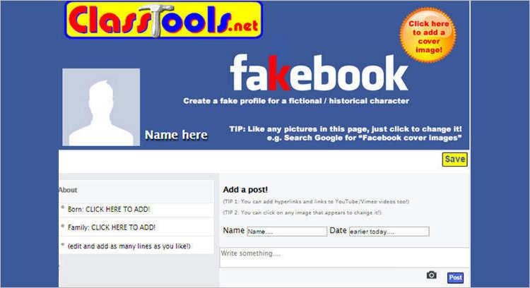 Facebook Generator Templates Design