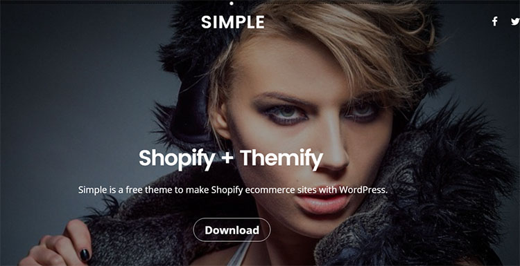 Fashion Model WordPress Theme Templates
