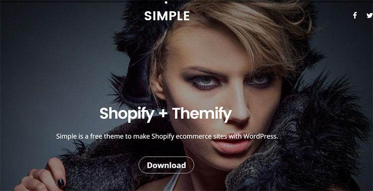 Fashion Model WordPress Theme Templates