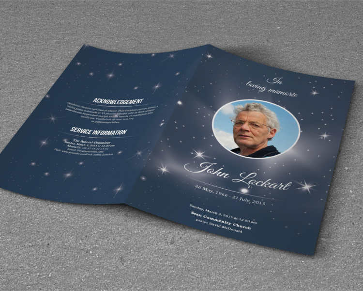 foral-funeral-program-template