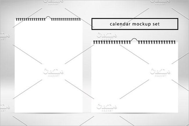 Free 2017 Calendar Mockups
